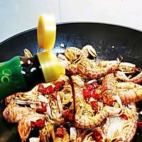 #餐桌上的春日限定#椒盐濑尿虾(椒盐皮皮虾)的做法图解5