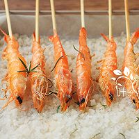 迷迭香海盐烤虾