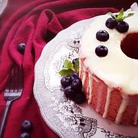 红丝绒中空戚风蛋糕的做法图解11