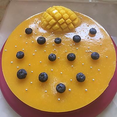 10寸芒果酸奶慕斯蛋糕