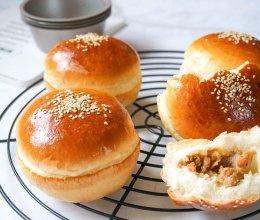 有肉的包包最好吃-日式照烧鸡腿汉堡包的做法