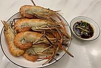 白灼罗氏大头虾的做法