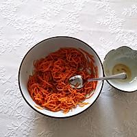 开胃小凉菜丨拌红萝卜丝的做法图解9
