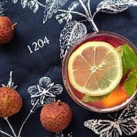 夏天水果茶图片
