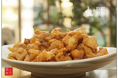 黑椒炸鸡块:一扫而光的美味