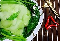 白灼芥兰/芥蓝【抗癌王、强抗氧化】素食蔬菜蜜桃爱营养师私厨的做法