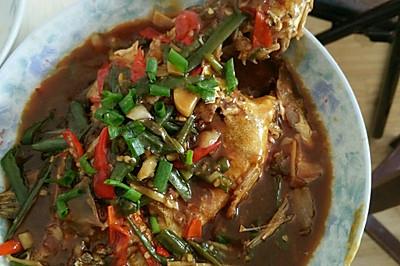 红烧桂鱼(鲫鱼)