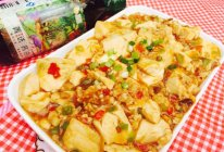 私房肉末麻婆豆腐--豆果菁选酱油试用报告六的做法