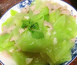 #美食视频挑战赛#莴笋炒肉片的做法