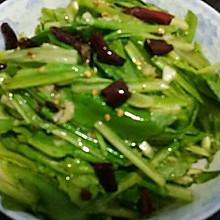 生炝油麦菜