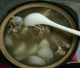 萝卜钙骨汤的做法