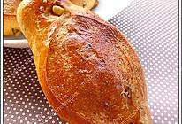 焦糖核桃面包的做法