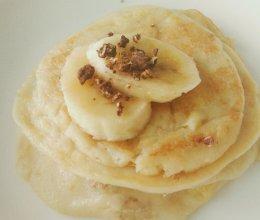 香蕉面饼的做法