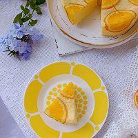 美味颜值双重在线的香橙蒸蛋糕的做法图解4
