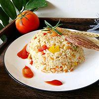 #秋天怎么吃#虾仁时蔬炒饭的做法图解11