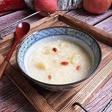 #初春润燥正当时#小米燕麦苹果粥