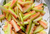 西瓜皮咸菜的做法