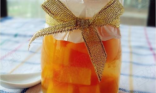 芒果果冻 的做法