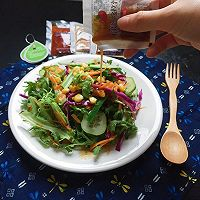 夏日减肥沙拉#丘比沙拉汁#的做法图解4
