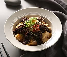 三阳开泰——鲜羊肚菌蒸清鸡的做法