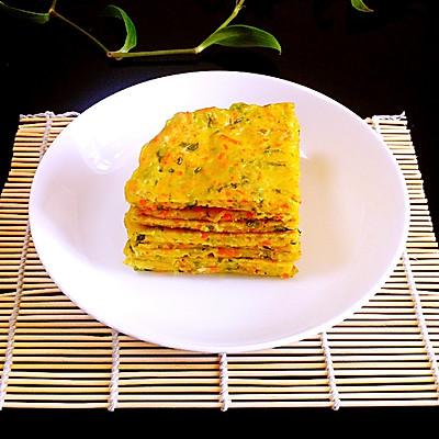 香煎蔬菜饼——利仁电火锅试用菜谱