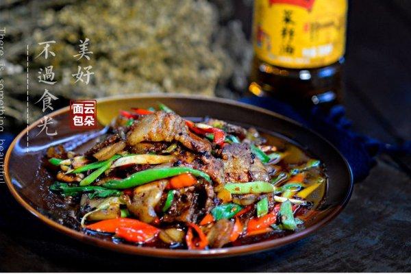 川香回锅肉#金龙鱼外婆乡小榨菜籽油 最强家乡菜#的做法