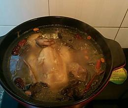 红蘑鸡汤的做法