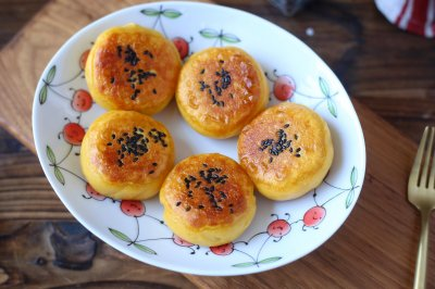 低卡红薯饼