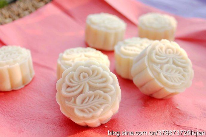 冰皮月饼的做法_【图解】冰皮月饼怎么做好吃_尚豆小