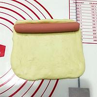 火腿肠麦穗咸面包的做法图解6