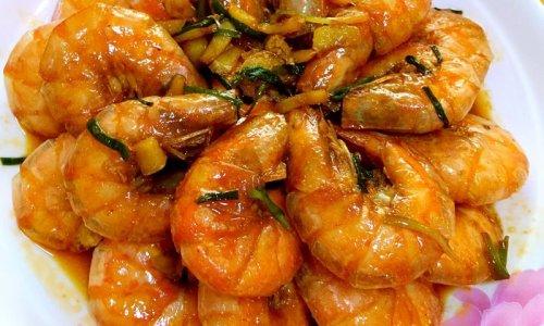 美极元宝虾的做法