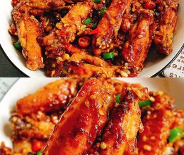 蒜香浓郁鲜嫩多汁的蒜香鸡翅的做法