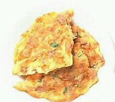 韭菜肉脯蛋的做法
