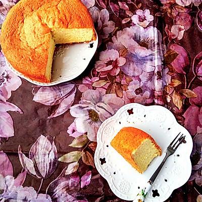 基础法式海绵蛋糕