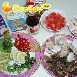 泰国冬荫功汤--不是用超市现成的调料做的噢的做法