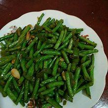 蒜泥炒豇豆