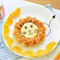 孩子吃饭不用愁~狮子王肉松饭团#松下多面美味#