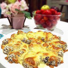 芝士燕麦焗粽子-高逼格超好吃!