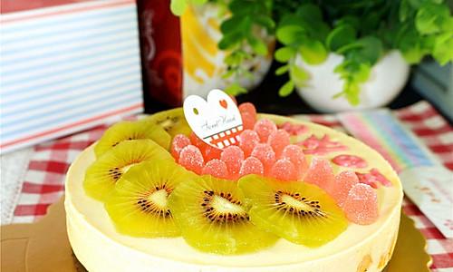 芒果酸奶慕斯蛋糕的做法