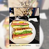 晚餐简易超美味三明治