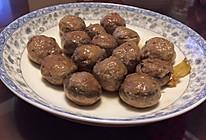 肉滑酿白蘑的做法