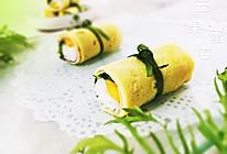 【芒果鸡蛋卷】~#急速早餐#的做法