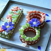 数字蛋糕#美的FUN烤箱·烘有FUN儿#