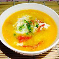 夏日清热解暑之--浓浓番茄蛋花汤(健胃消食)的做法图解7