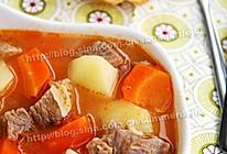 番茄牛肉杂蔬汤的做法