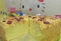 蔓越梅戚风蛋糕的做法