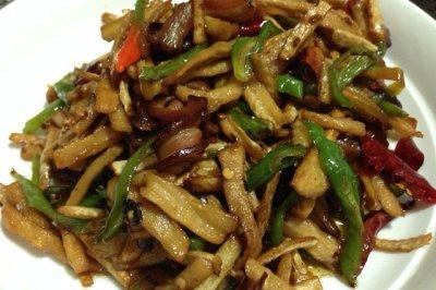 湘菜-萝卜干炒腊肉