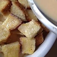蛋奶吐司布丁~简单美味的做法图解4