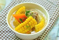 玉米猪骨汤的做法
