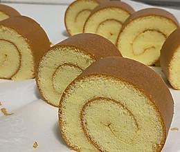 无奶油蛋糕卷的做法